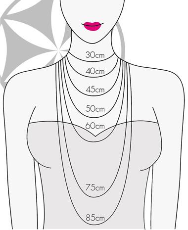Halskettenlänge